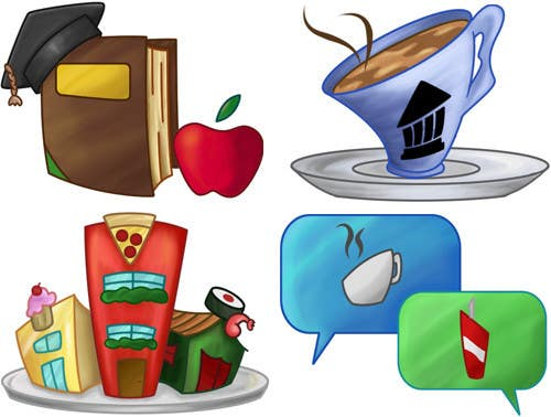 Contest Entry #33 for Icons for food website