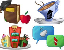 #33 dla Icons for food website przez monselj1