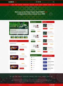 #3 for Design a Website Mockup for Gamerslab - a Gaming Website by kreativeminds