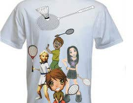 #11 for Design a T-Shirt for Parody Avengers, Badminton, Chibi style by mukundrathi2905