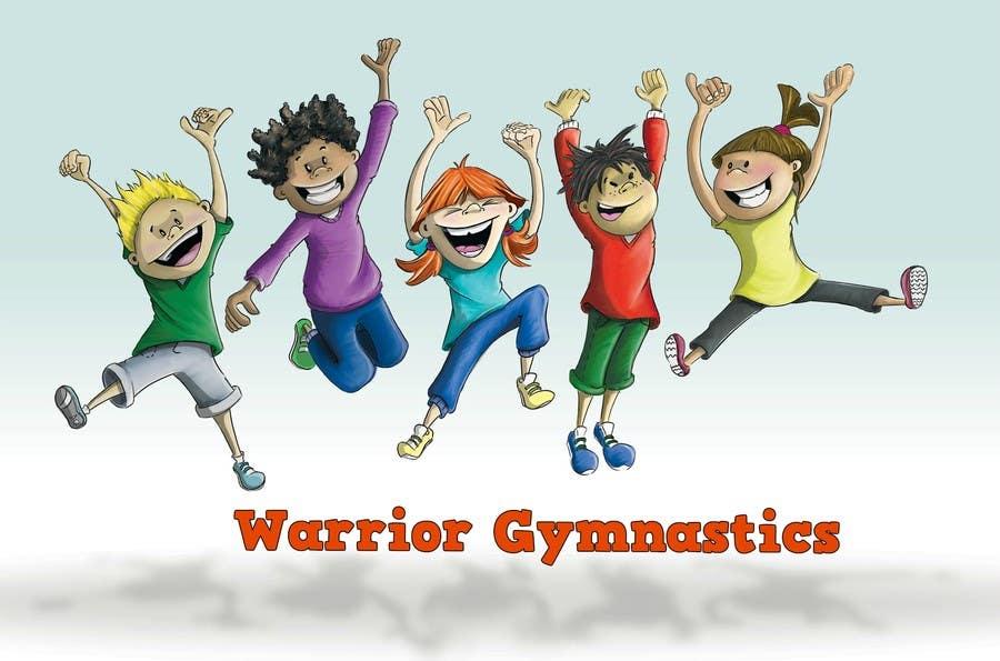 Contest Entry #                                        57                                      for                                         Design a Logo for a gymnastics program