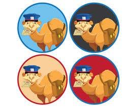 #60 for Camel Eating Mail af khaldiyahya
