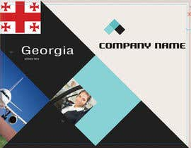 #2 for Brochure Design for Georgian cargo ltd af Thanosfotn