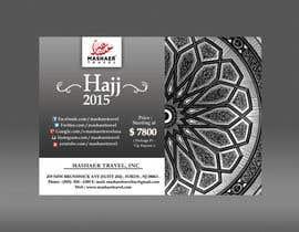 Nro 39 kilpailuun Hajj 2015 Flyer käyttäjältä fardiaafrin