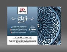 Nro 40 kilpailuun Hajj 2015 Flyer käyttäjältä fardiaafrin
