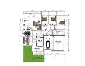 #5 for Modify an house plan with dimensions for all rooms by zuhri1960