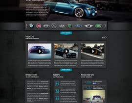 nº 85 pour Design a Website Mockup for a (chip)Tuning company par Artnetta
