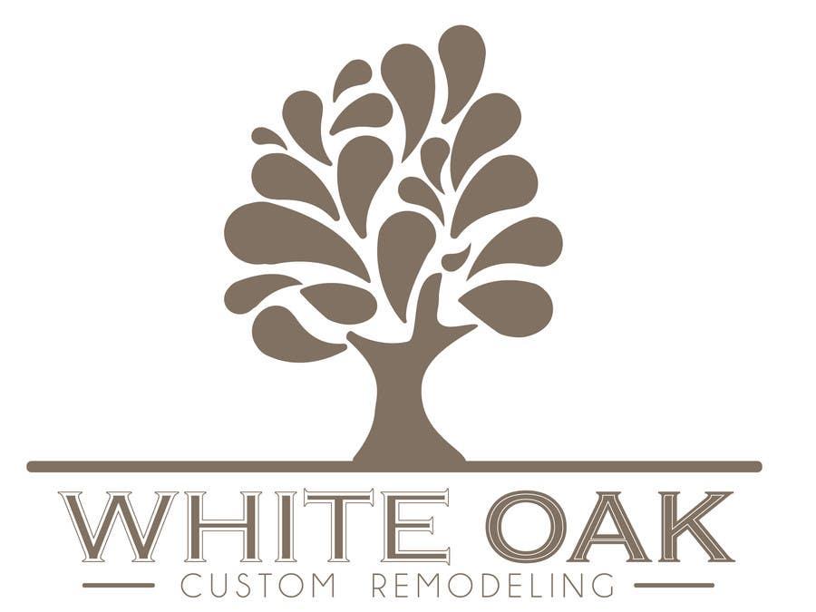 Kilpailutyö #11 kilpailussa Design a Logo for White Oak Custom Remodeling