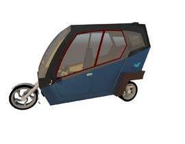 Nro 14 kilpailuun Industrial Concept Product Design for a Three-Wheeler EV käyttäjältä rumendas