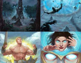 #35 for Fantasy Card Game Art - Contest 8 (spells) af junior0593
