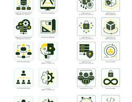 #39 for 2 sets of 4 icons needed. Digital Computing Cybersecurity Domain. af Grabarvl