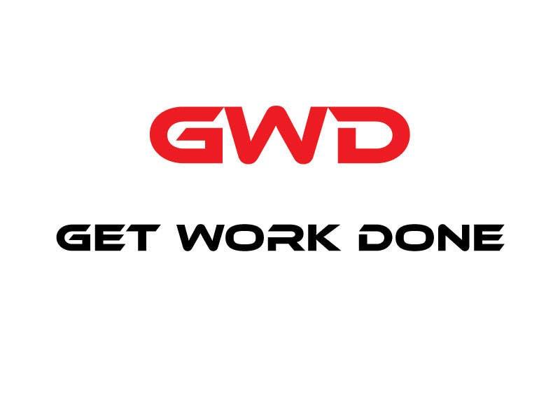Konkurrenceindlæg #                                        36                                      for                                         Design a Logo for Get Work Done