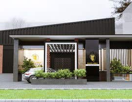 #20 for Warehouse Architectural Render Facade af tamimibraahim