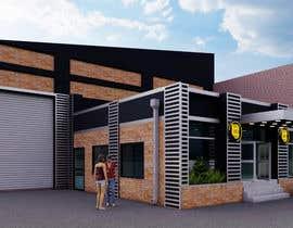 Nro 12 kilpailuun Warehouse Architectural Render Facade käyttäjältä banduwardhana