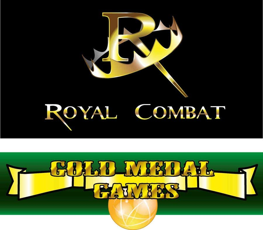 Contest Entry #                                        24                                      for                                         Design a Logo for Gold Medal Games and Royal Combat