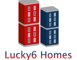 #141 for Design a Logo for Lucky6 Homes by DaisyGraphic