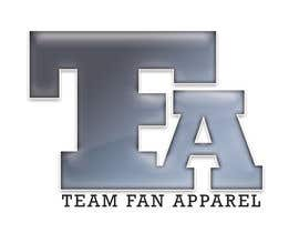 #100 , Logo Design for TeamFanApparel.com 来自 whizgraphis