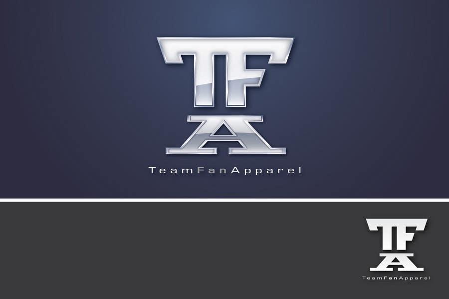 Kilpailutyö #                                        79                                      kilpailussa                                         Logo Design for TeamFanApparel.com