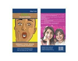 #16 for Package Labels: Stylish Layout Needed for a New Organic Cosmetic Face Mask by rrranju