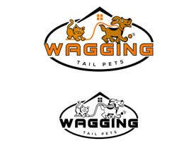 #168 for Logo Design for Wagging Tail Pets by naygf00