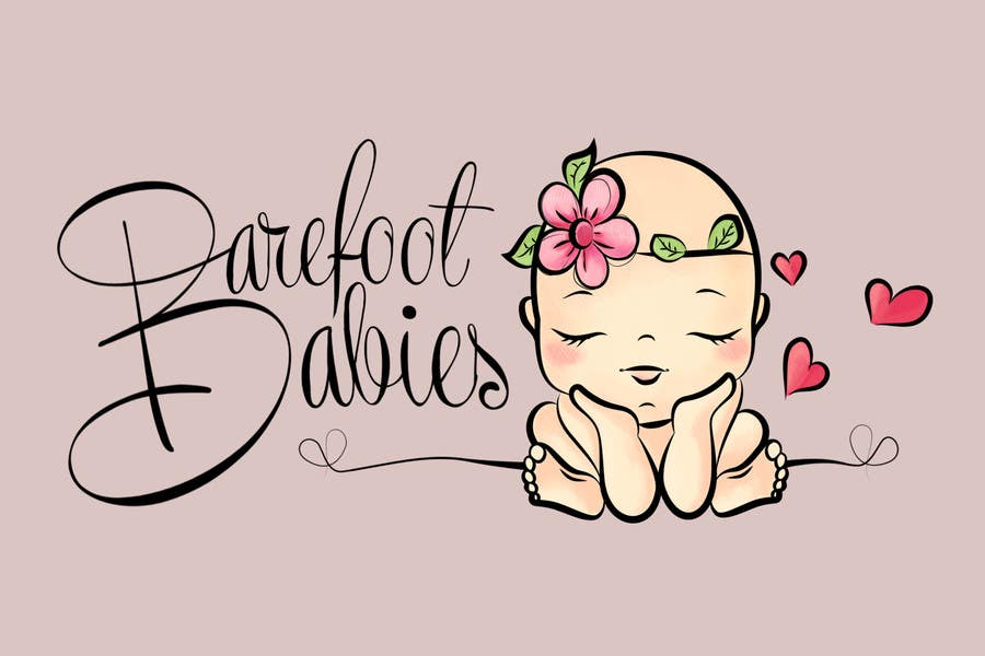 Contest Entry #                                        20                                      for                                         Colour or Re-design Logo for Barefoot Babies Boutique