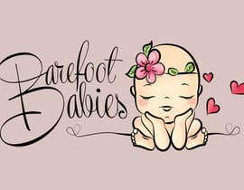 #20 untuk Colour or Re-design Logo for Barefoot Babies Boutique oleh Libros