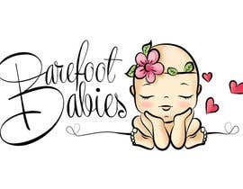 #30 untuk Colour or Re-design Logo for Barefoot Babies Boutique oleh Libros