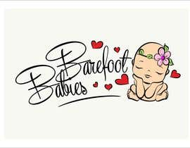 MaxMi tarafından Colour or Re-design Logo for Barefoot Babies Boutique için no 18