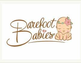 #27 untuk Colour or Re-design Logo for Barefoot Babies Boutique oleh MaxMi