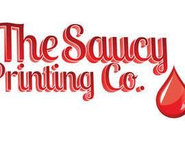 """Nro 42 kilpailuun Design a Logo for """" The Saucy Printing Co. """" käyttäjältä MindbenderMK"""