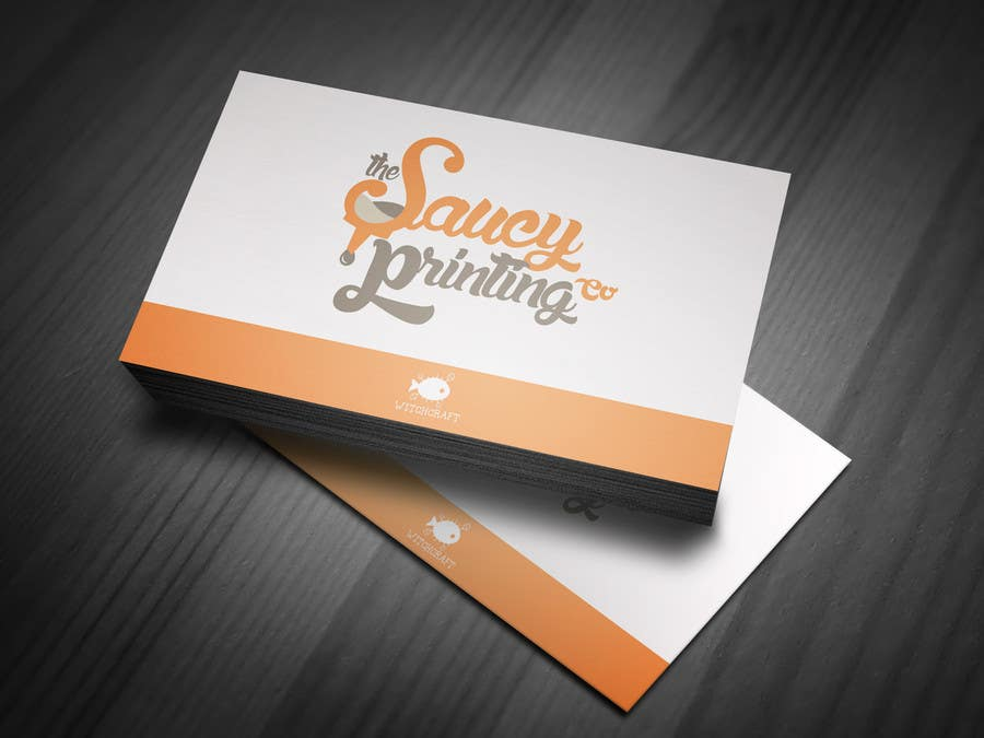 """Contest Entry #                                        45                                      for                                         Design a Logo for """" The Saucy Printing Co. """""""