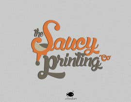 "#47 untuk Design a Logo for "" The Saucy Printing Co. "" oleh obscuregear"