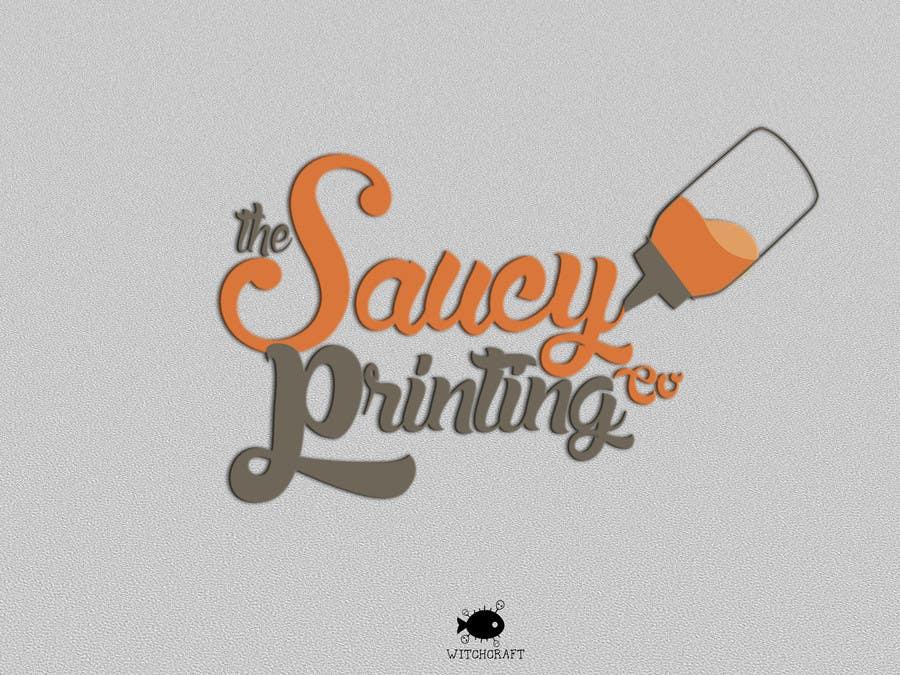 """Bài tham dự cuộc thi #48 cho Design a Logo for """" The Saucy Printing Co. """""""