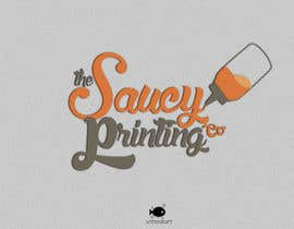 "#48 untuk Design a Logo for "" The Saucy Printing Co. "" oleh obscuregear"