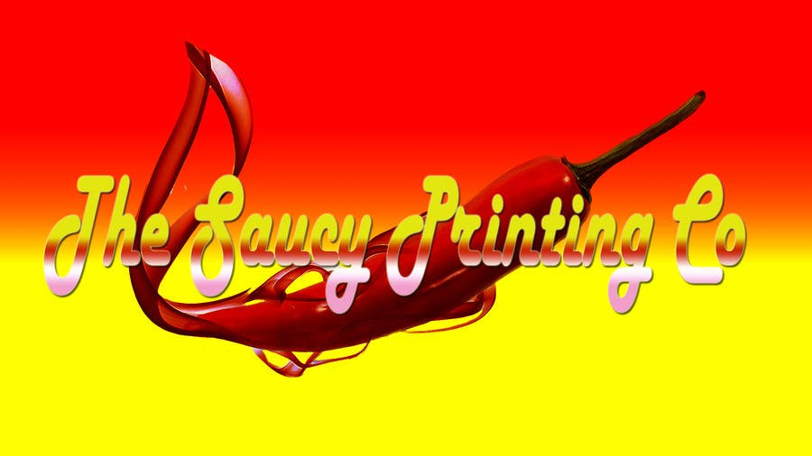 """Konkurrenceindlæg #                                        62                                      for                                         Design a Logo for """" The Saucy Printing Co. """""""