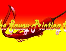 "#62 untuk Design a Logo for "" The Saucy Printing Co. "" oleh sergeyivin91"