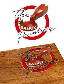 """creativedesires tarafından Design a Logo for """" The Saucy Printing Co. """" için no 36"""