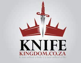 #32 para Design a Logo for Knife Kingdom por taherznaidi