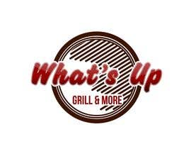 #31 untuk Design a Logo for brand Called (What's Up) grill & More oleh tinaszerencses