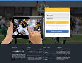 #10 for Design a Website for Sports Skills Video Uploading Site by pradeep9266