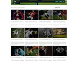 #12 for Design a Website for Sports Skills Video Uploading Site by pradeep9266