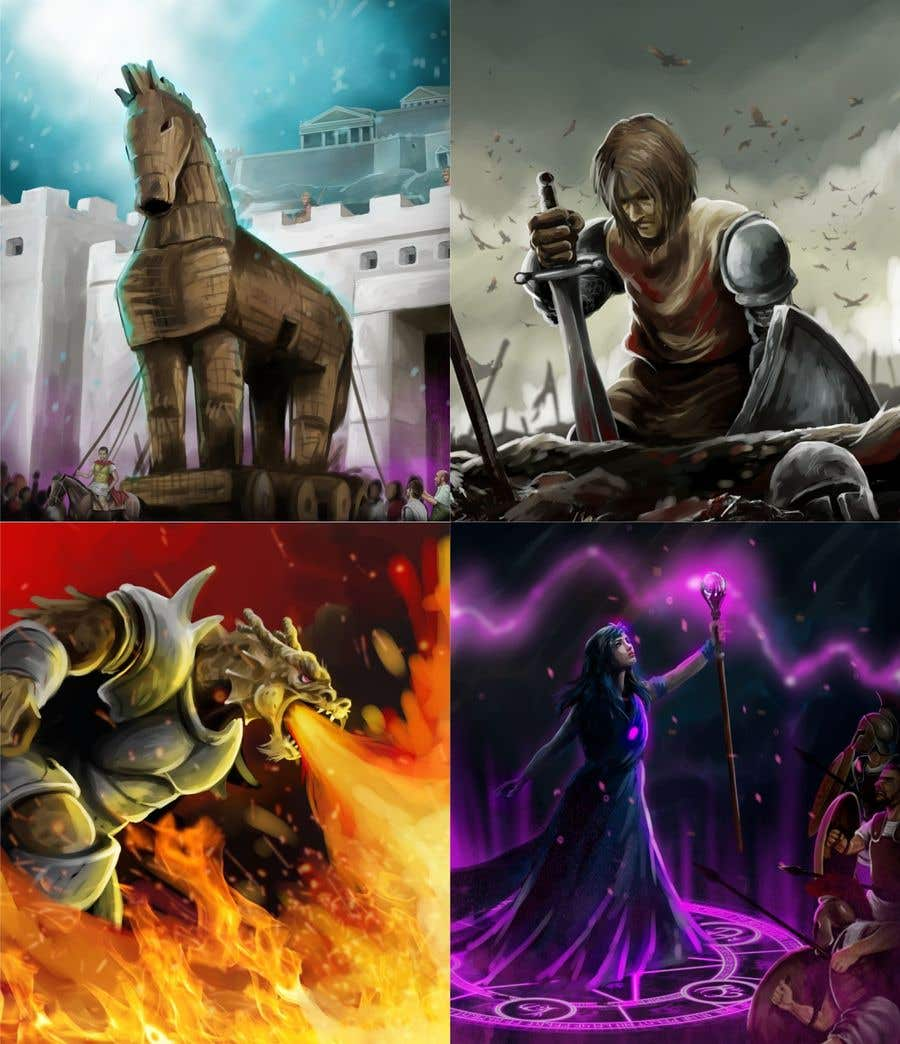 Konkurrenceindlæg #                                        44                                      for                                         Fantasy Card Game Art - Contest 12 (spells)