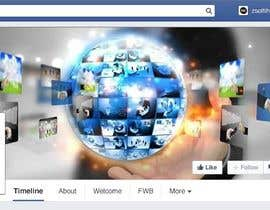 #40 for Design a profile picture and cover for a facebook page by Mery1996
