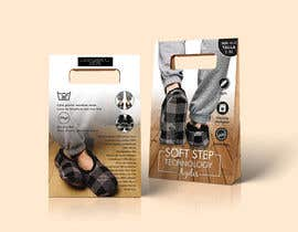 #11 for Innovate packaging design for collection of Slipper Socks af talhabalk