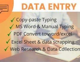 #52 для Typing data entry and copying от saba02216