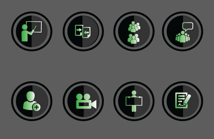Konkurrenceindlæg #18 for Design some Icons for website