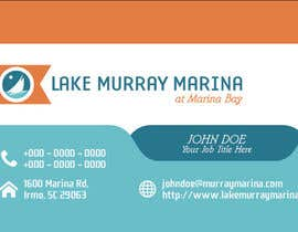 #10 for Design some Business Cards for a Marina af rachelrek