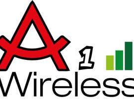 #131 para Logo Design for A-1 Wireless por alazghari