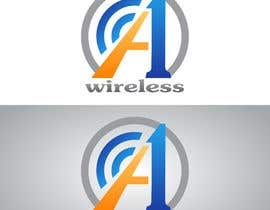 #124 para Logo Design for A-1 Wireless por vladimirsozolins