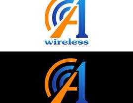 #125 para Logo Design for A-1 Wireless por vladimirsozolins